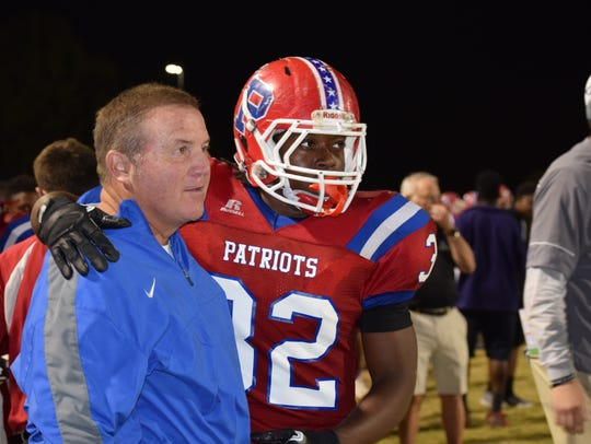 Pace senior running back Anthony Johnson enjoys a special