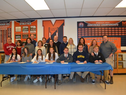 Mountain Lakes High School letter of intent
