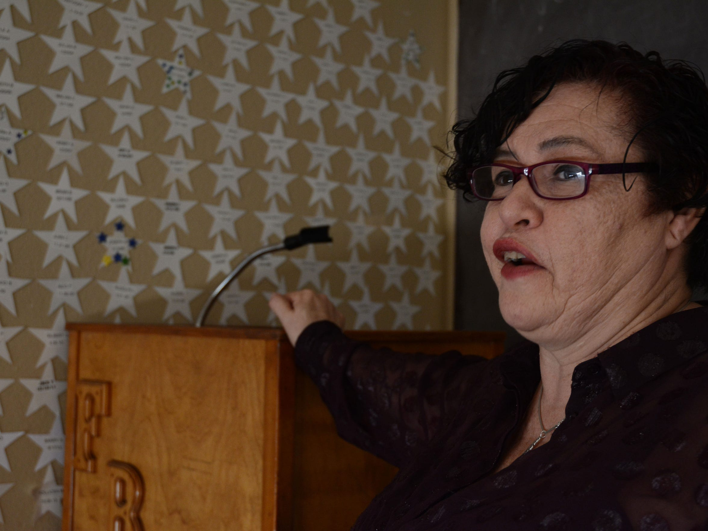 Rochelle Solombrino, 50, who had four felonies reduced