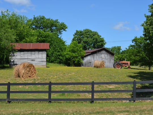 When developing The Fram at Clovercroft, Turnberry had to remove dilapidated milking barns for safety's sake but is keeping an old tractor, a silo and 150-year-old barns.