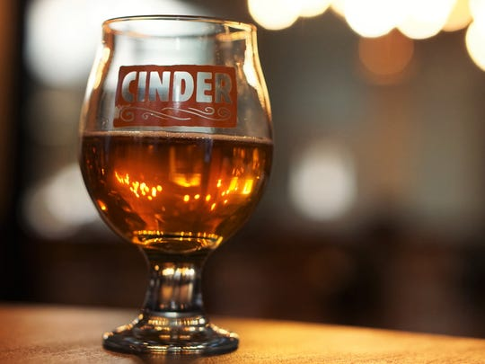 A cider or sour beer and a wood-fired pizza can get 2017 off to a good start.