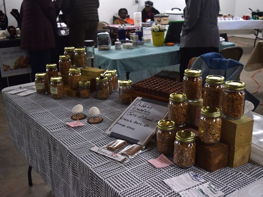 Fresh granola from Debbie's Granola is for sale Saturday at the Frenchtown Farmers Market .