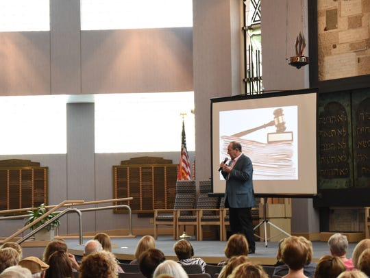 Bestselling author Ronald H. Balson speaks to book
