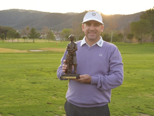 Chris Gilley of La Quinta Country Club was ready to play in a U.S. Open local qualifiers at Bermuda Dunes Country Club this month.