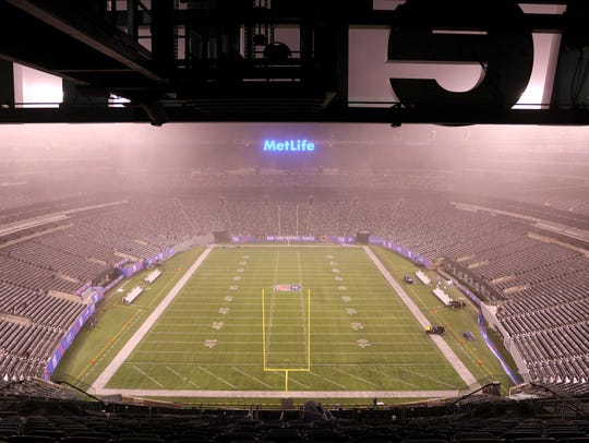 MetLife Stadium, home to the Giants and Jets professional
