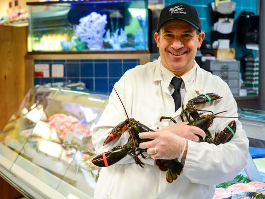 Antonio Goodman, seafood chef at Market Basket in Franklin Lakes.