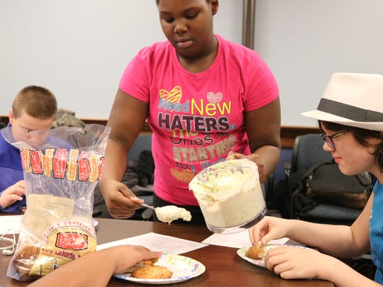 Delicious, homemade snacks are being whipped up at the Ida Rupp Public Library for and by local teens.
