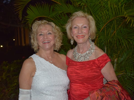 Event co-chairs Gina Johnson and Trude See