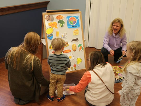 Children have various options for programs at Ida Rupp Public Library.