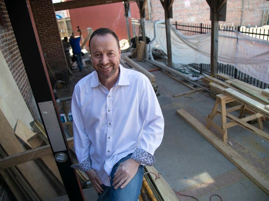 Nils Richter is working with the Kearns Restaurant Group on the Social House in downtown Fort Myers. The space, which should open later this spring, is in the former home of the Spirits of Bacchus.