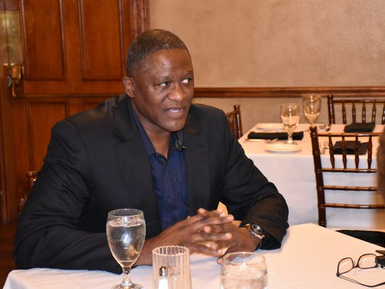 Former Atlanta Hawks star and NBA Hall of Famer Dominique Wilkins discussed a variety of topics a prior to speaking Wednesday night at the 63rd annual Pensacola Sports Awards Banquet at New World Landing.