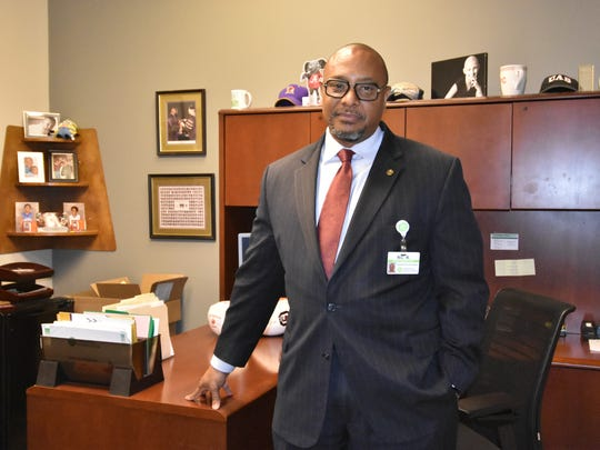 GHS administrator Ric Ransom is chair of the 2017 Upstate Heart Walk, a fundraiser for the American Heart Association set for April 8 in Greenville.