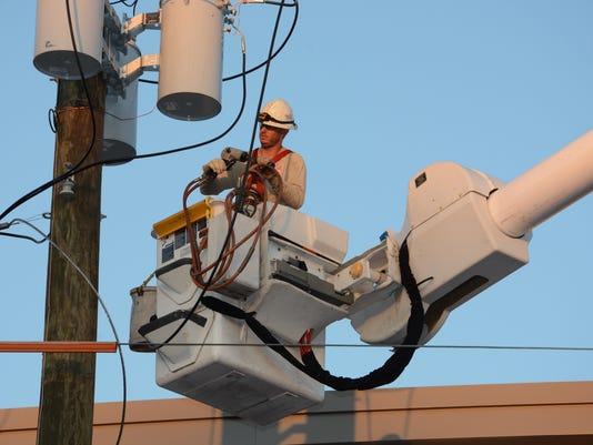 Gulf Power lineman