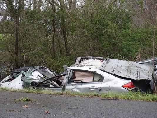 Bishopville Crash
