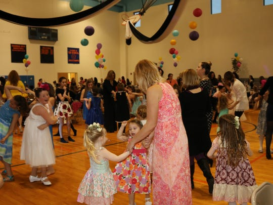 Tickets for Saturday's Mother Daughter Dance sold out in nine minutes.