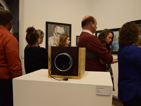 The USI Juried Student Art Show is open and free to