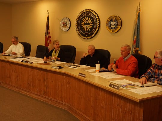Council of South Bethany at meeting on Friday, April