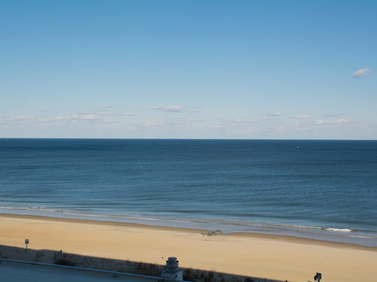 View East-Northeast from Ocean City Carousel Oceanfront Hotel and Condos, 9th Floor. (Simulation)
