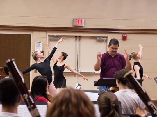 Youth Orchestra rehearses with Tallahassee Ballet and