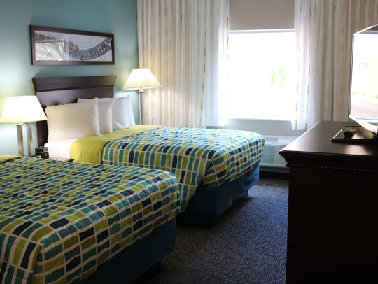 Cedar Point recently renovated every room of its Express