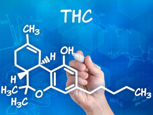 #stockphoto - Marijuana chemistry