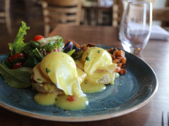 Cross and Orange will serve Eggs Benedict this Mother's Day brunch.