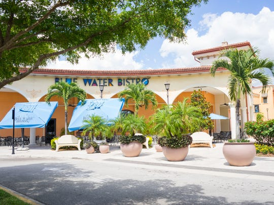 Blue Water Bistro in Coconut Point closed May 1, 2017, to be changed into a new dining concept this fall by Culinary Concepts.