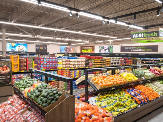 Remodeled ALDI stores will feature, more fresh food items, dairy and bakery sections.