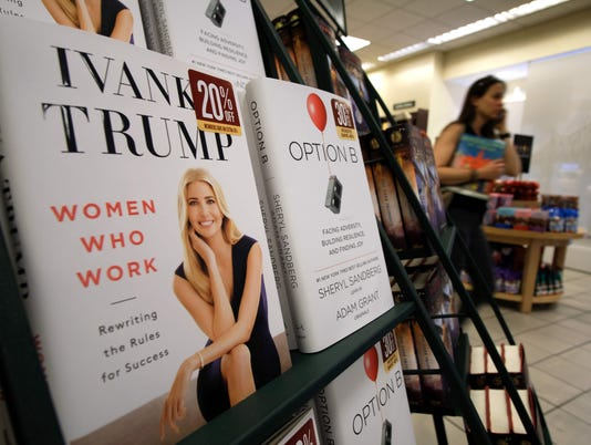 US-POLITICS-TRUMP-IVANKA-BOOK