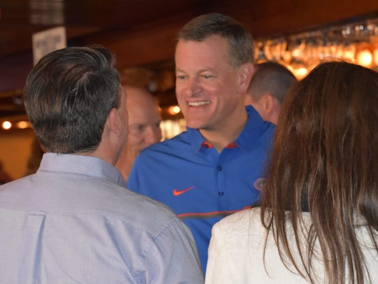 Florida Gators' first year athletic director Scott