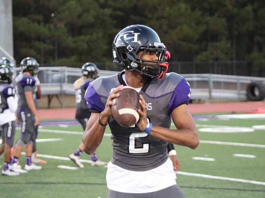 Jadon Walker, one of four incoming freshmen cornerbacks for the CSU football team, threw for more than 4,000 yards, ran for more than 2,000 and had 1,000 receiving yards at Chapel Hill High School in Douglasville, Ga.