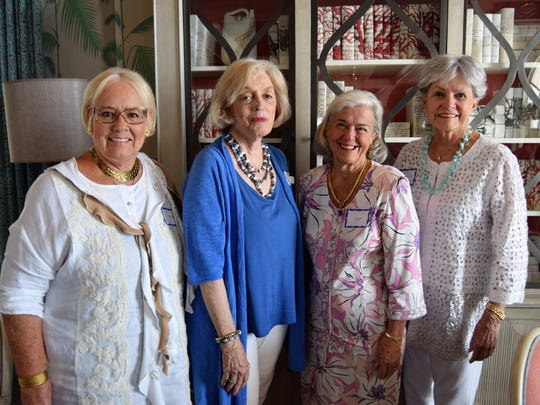 Sandra Foster, Abby LaReno, Letty Hurst, and Carmen Sommers-Townsend