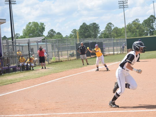 LSUA plays Brenau University in the NAIA Softball Championship opening round held Tuesday, May 16, 2017.