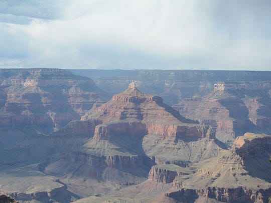 The Grand Canyon from the South Rim near Mather Point