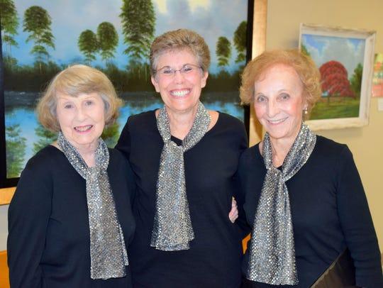 Barbara Lindell, Patti Battista and Rose Jaeger
