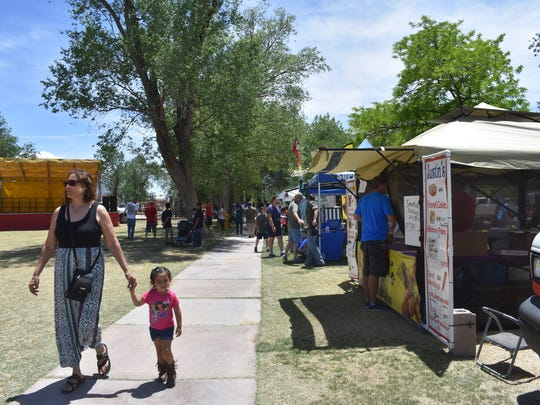 Entertainment, free games and activities for kids, vendors and free entrance into the zoo were available to those who attended the 40th annual Military Appreciation Day.