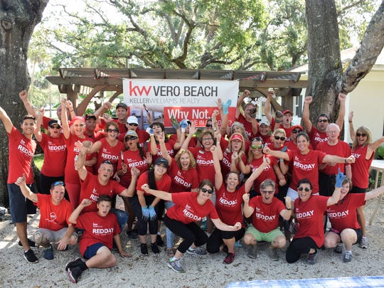 Keller Williams' associates donate a day to give back to the local community