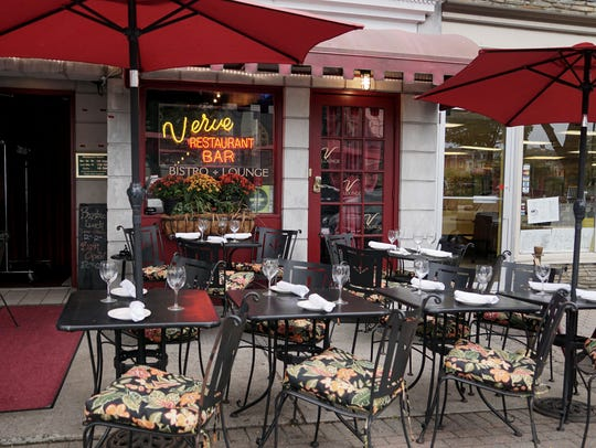 Verve in Somerville offers great al fresco dining in