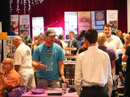 Hundreds attended the Community Involvement Fair in April.