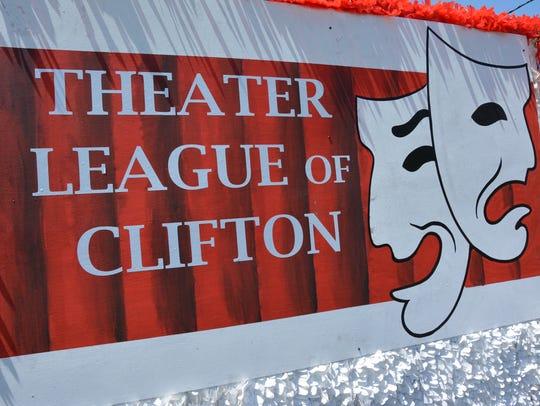 The Theater League of Clifton's logo