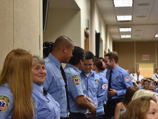More than 170 first responders were awarded with Phoenix