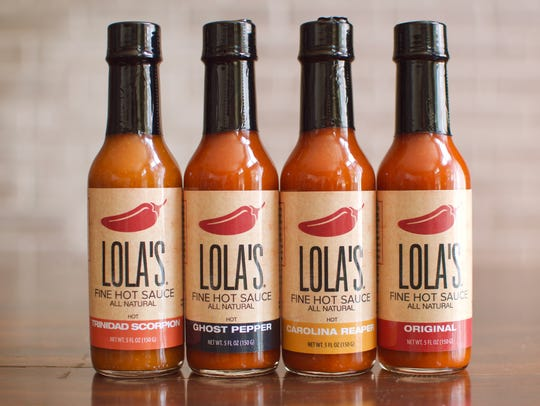 Lola's Fine Hot Sauce's entire line of products.