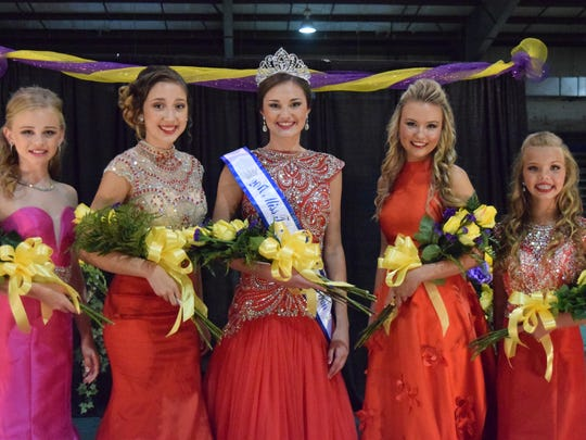 Paige Wells was crowned Miss Teen 2017 at the UC Fair