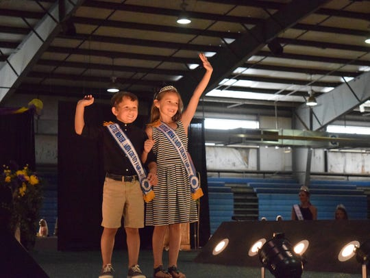 Little Mr. and Miss 2016, Colby Hepler and Briley Garrett