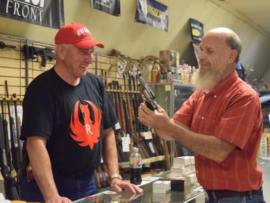 Mac O'Daire talks with David Alvey.