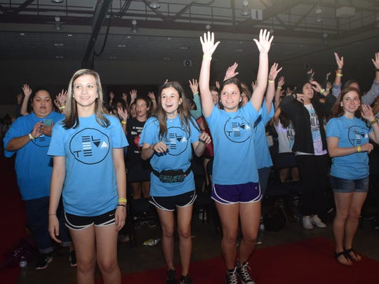 Girls attending the session by Megan Mastroianni, the