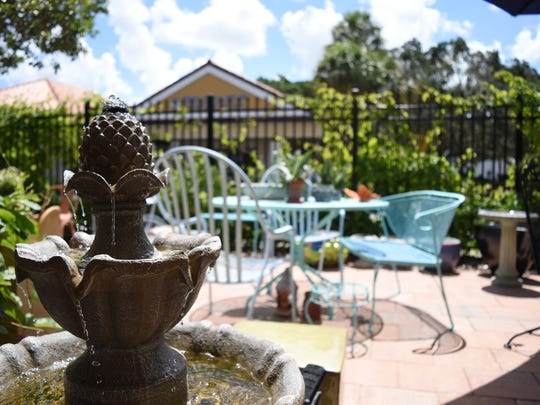 Pretty up their garden with a water fountain or outdoor bench at furniture shops like Chesterdales Home & Garden, 4910 U.S. 41 N., Suite 314, Naples, in 2017.