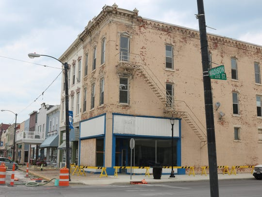 This vacant building at 131 Madison St. in downtown