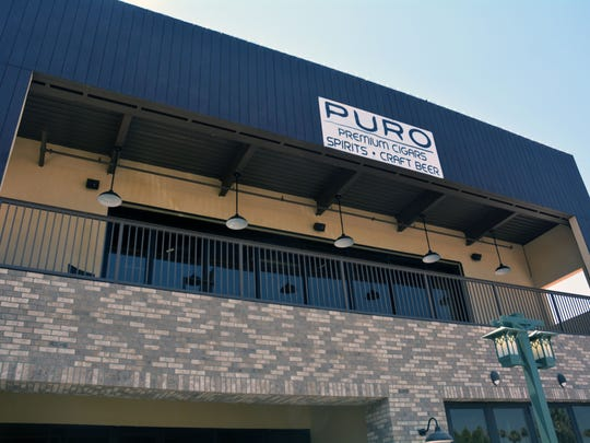 Puro Cigar Bar is situated in downtown Chandler.