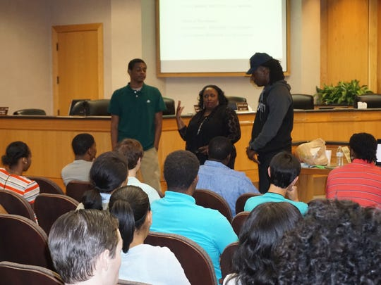 The Parish of Caddo Summer Youth work program introduces high school and college age students to parish government operation.